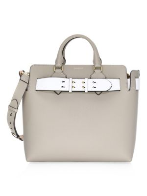 Belt Leather Shoulder Bag by Burberry