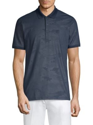 G/FORE Camouflage Slim Polo in Twilight