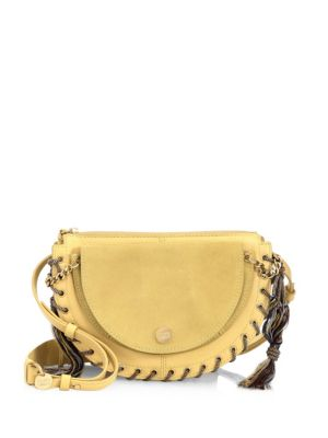 See By Chloé  Kriss Leather Pineapple Shoulder Bag