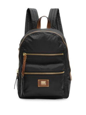 Mini Ivy Nylon Backpack - Black