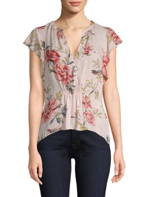 Silk Floral Top by Joie