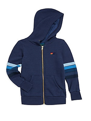 9a14019cf46 Aviator Nation - Little Boy s and Boy s Smiley Patch Zip Hoodie