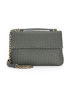 1cf399b9c8b3 QUICK VIEW. Bottega Veneta. Olimpia Medium Leather Shoulder Bag