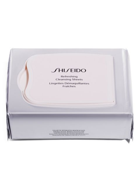 Shiseido Refreshing Cleansing Sheets   SaksFifthAvenue
