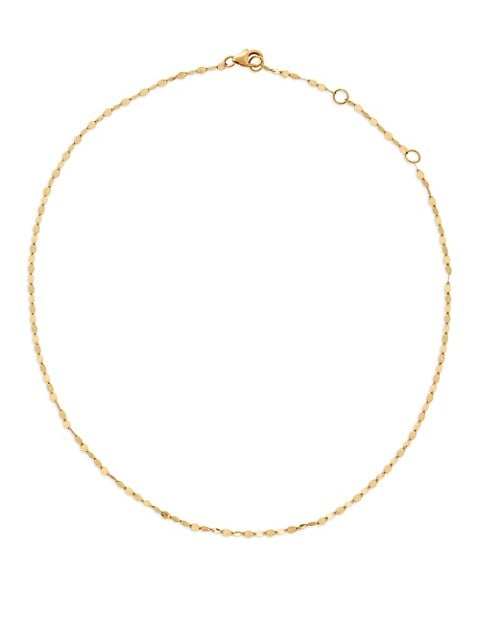 14K Yellow Gold Blake Chain Choker