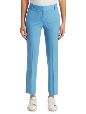 Theory  Straight Stretch Wool Trousers
