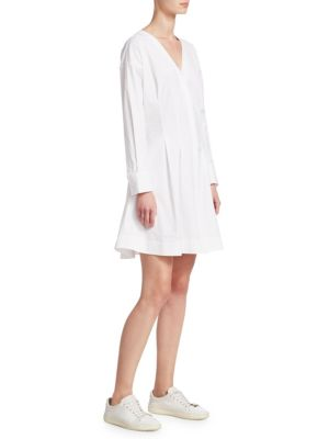 Theory  Darted Button-Down Dress