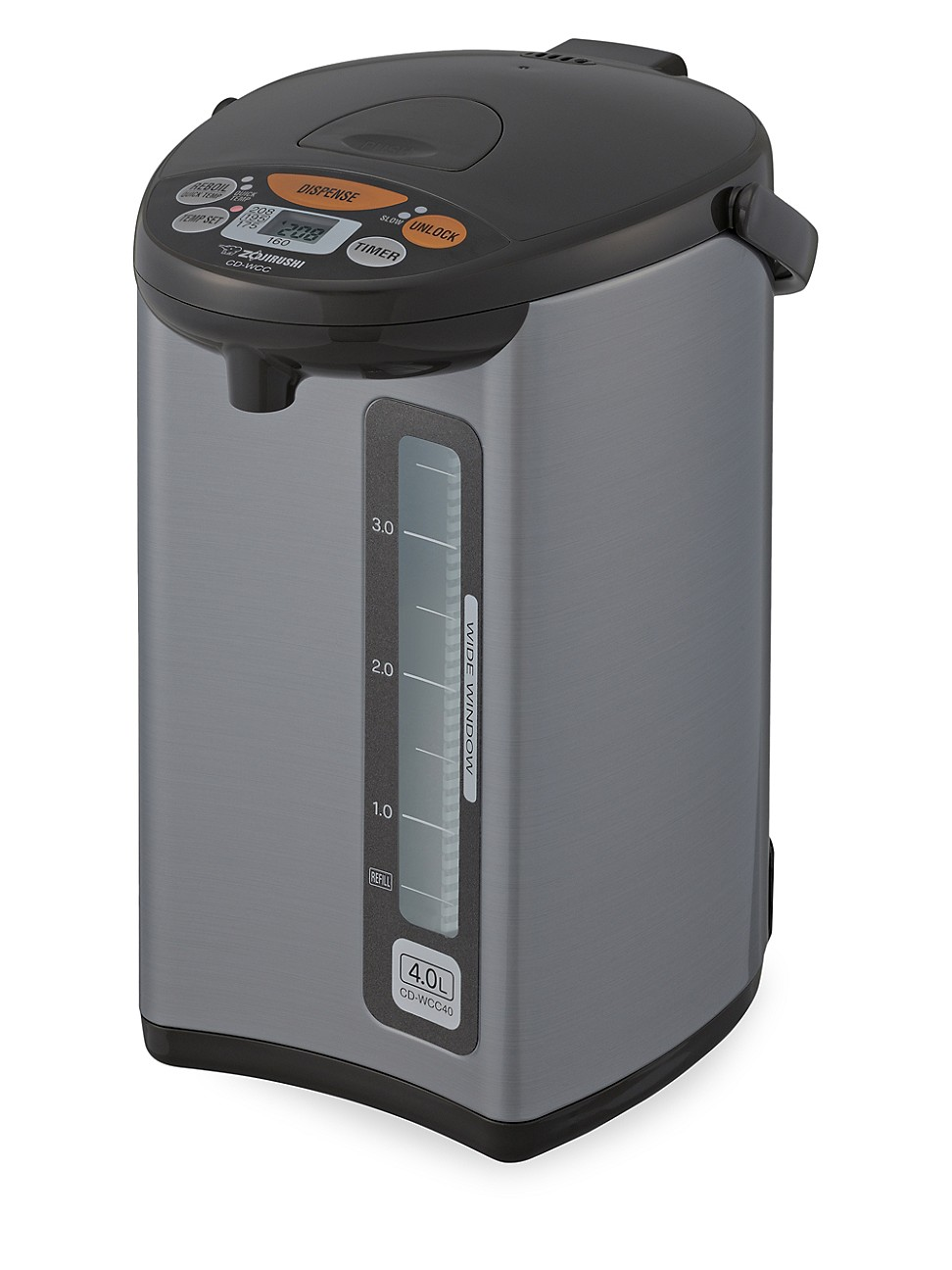 Zojirushi Cd-wcc40ts Micom 4l Water Boiler & Warmer In 4 Liter