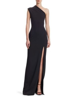 Solace London  Averie One-Shoulder Gown