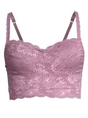 9c2c1c30c5f3d Cosabella Never Say Never Curvy Sweetie Soft Bra (Larger Cup) In Grape