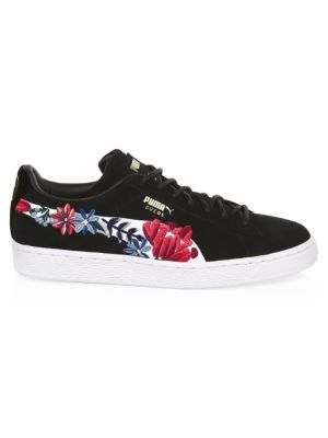 Embellished Suede Hyper Sneakers by Puma