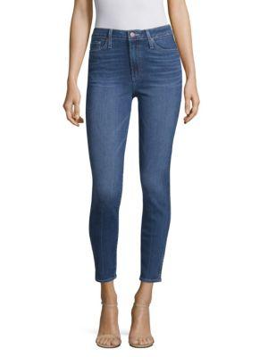 Paige  Margot Super High Rise Cuffed Skinny Jeans