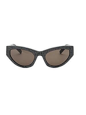 281f10ca8fd Saint Laurent - Kate 55MM Cat Eye Sunglasses - saks.com