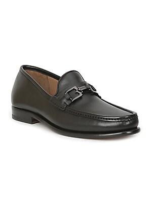 c3cd39957f6 Santoni - Turner Leather Penny Loafers - saks.com