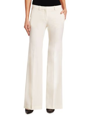 Demetria Polished Wool Trousers by Theory