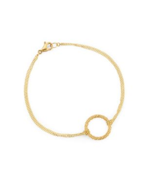 AMALI 18K Gold Chain Bracelet in Yellow Gold