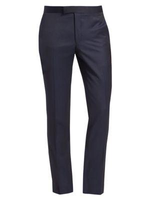 Saks Fifth Avenue Modern Tuxedo Wool Trousers