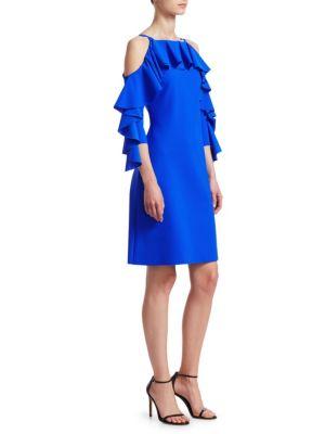 Chiara Boni La Petite Robe Marcellina Ruffle Dress