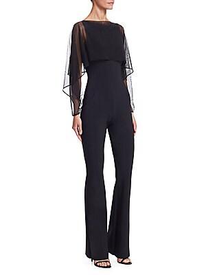9e275ab0709 Chiara Boni La Petite Robe - Renalda Illusion Jumpsuit - saks.com