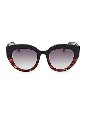 ffeb2103519d9 Colors in Optics - Carnavale Thick Plastic Cat Eye Sunglasses