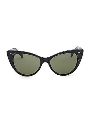 ab2743a5229 Saint Laurent. M28 54MM Cat Eye Sunglasses.  395.00. Colors in Optics -  Audrey Cat Eye Sunglasses