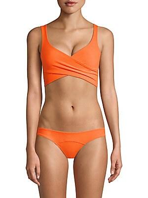 b93e7de71b67a Lisa Marie Fernandez - Magdalena Belted High-Waist Two-Piece Bikini ...