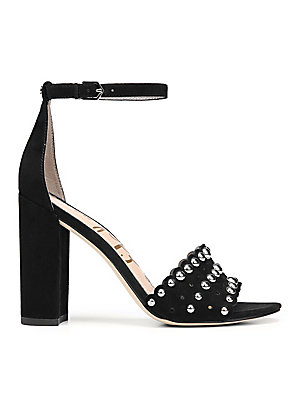17c581e14 Sam Edelman - Yaria Studded Leather Slingback Sandals - saks.com