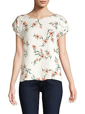 4a218dbd9b6af5 Joie - Elline Floral Silk Blouse - saks.com