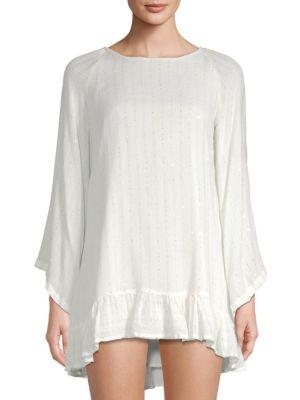 SUNDRESS Indiana Tassel Dress in White
