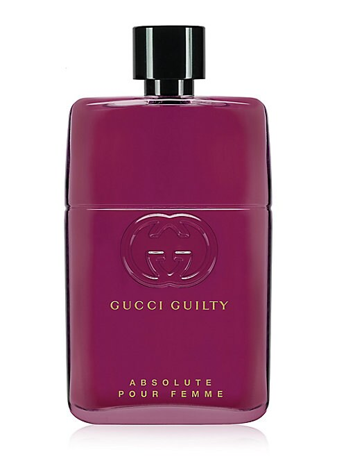 Image of The GuiltyNotGuilty revolution continues with the launch of Gucci Guilty Absolute Pour Femme, the ultimate partner for Gucci Guilty Absolute Pour Homme. Together, the Absolute couple express the notion of emancipated love, a pair of fragrances that comple