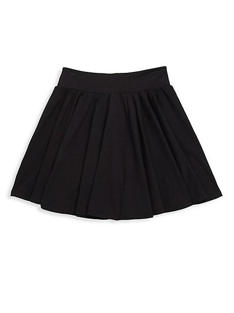 Girl's Elasticized Twirly Skirt