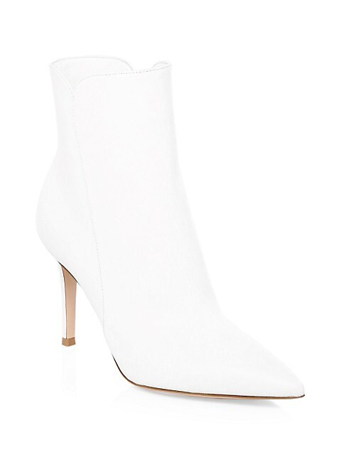 Levy Leather Ankle Boots
