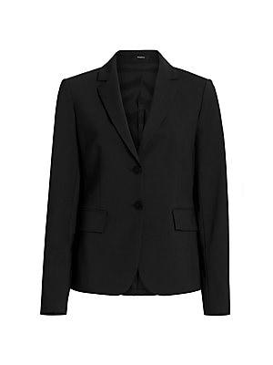 fa963a05f5f8 Theory - Velvet Tuxedo Jacket - saks.com