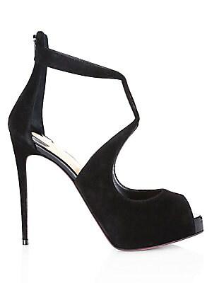 cba79d1608c Christian Louboutin - Rosie Velvet d Orsay Stiletto Sandals - saks.com