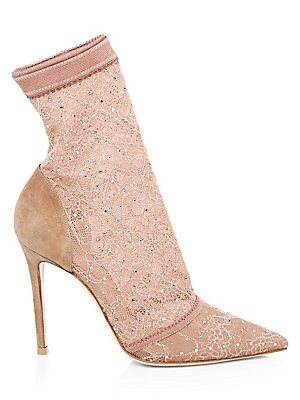 5662d675473 Gianvito Rossi - Ellipsis High-Back Suede Point Toe Pumps - saks.com