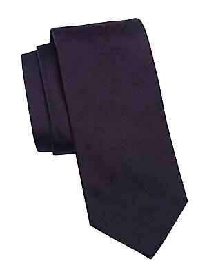 8c1b9bf2f622 Emporio Armani - Solid Silk Tie - saks.com