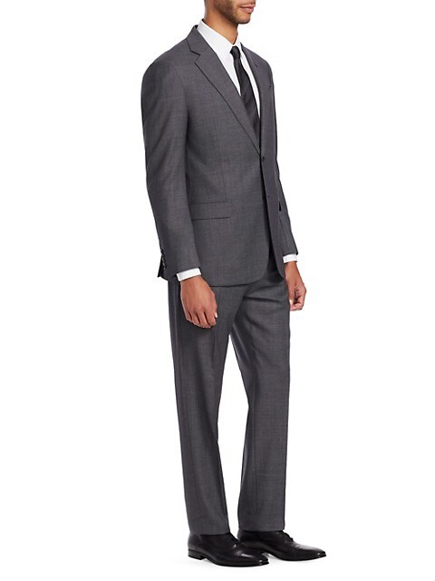 G Line Regular-Fit Wool Suit