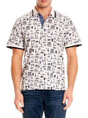 Robert Graham  Missile Polo Shirt