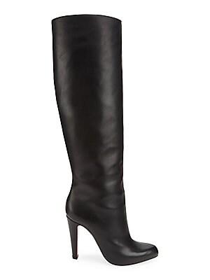 uk availability fa428 2a395 Christian Louboutin - Marmara 100 Tall Leather Boots