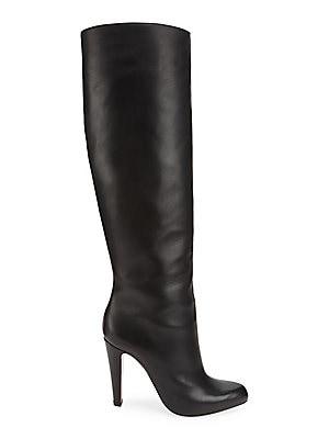 uk availability 4ecde 63b40 Christian Louboutin - Marmara 100 Tall Leather Boots