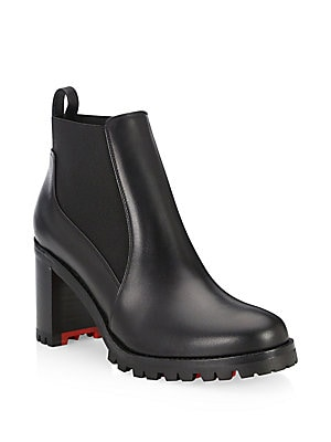 4b5d71be727 Christian Louboutin - Marcharoche 70 Leather Booties - saks.com