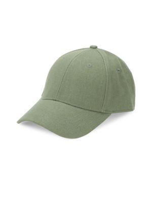 GENTS Executive Hemp Baseball Cap in Army