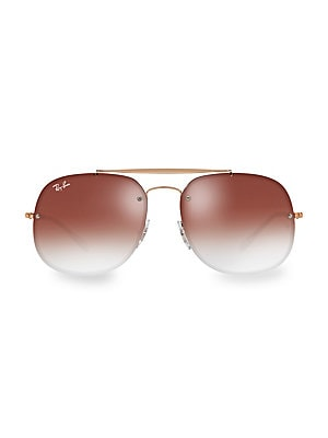 98092b9402 Ray-Ban - Blaze General Iridescent Oversized Sunglasses - saks.com
