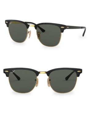 51 Mm Black Clubmaster Classic by Ray Ban