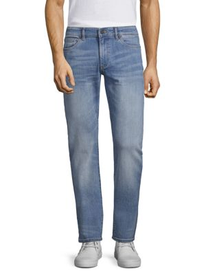 DL1961 Russell Slim Straight Jeans in Axel