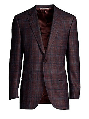 red sport coat saks com