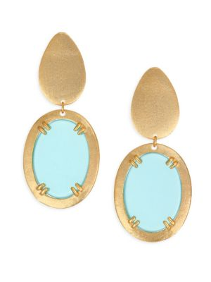 STEPHANIE KANTIS Icon Earrings in Yellow Gold