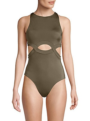 4315a1f7fb2af OYE Swimwear - Ela Plunge One-Piece Swimsuit - saks.com