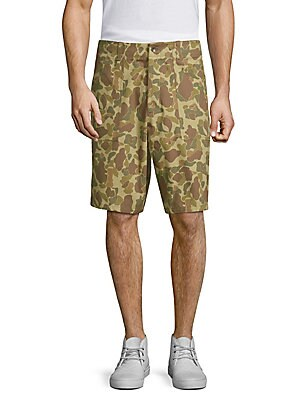 f275c9ccb8efe PRPS - Slim-Fit Checkered Shorts - saks.com
