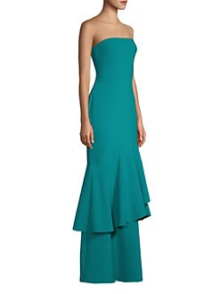 c66a34b1cd QUICK VIEW. Likely. Davey Ruffle-Hem Gown